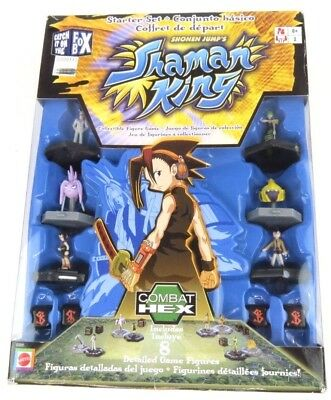 Shonen Jump's Shaman King Combat Hex Collectible Figure Game