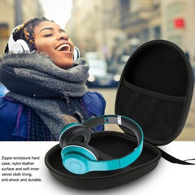 Headphones Earphones Headset Hard Shell Carrying Case Bag Storage Pouch Holder