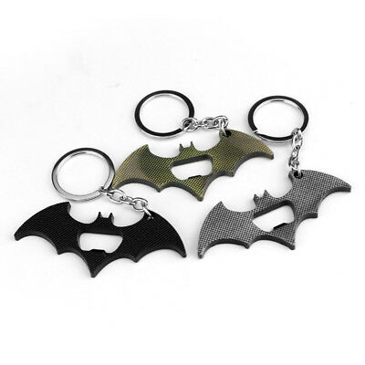 Hot Selling Exquisite Batman Metal Key Chain With Beer Bottle Opener Collection