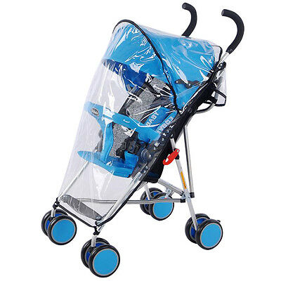 New Stroller Rain Cover Universal Waterproof Pram Baby Pushchair Dust Shield