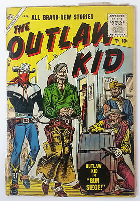 1956 Atlas/Marvel OUTLAW KID #9