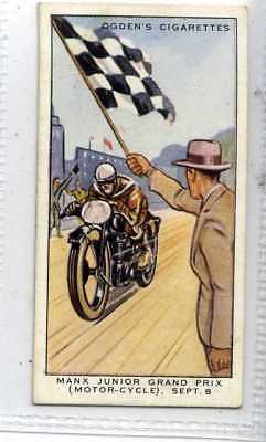 (Je7109) OGDENS,MOTOR RACES 1931,MANX JUNIOR GRAND PRIX,1931,#49