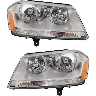 TYC 20-6894-00-9 Compatible with DODGE Avenger Left Replacement Head Lamp