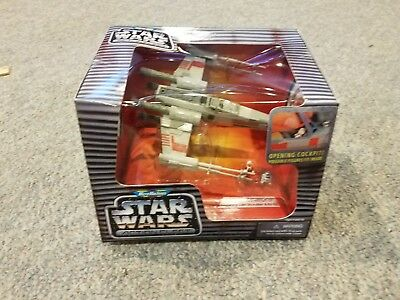 1995 Micro Machines Star Wars Action Fleet: Luke's X-Wing Starfighter - NIB