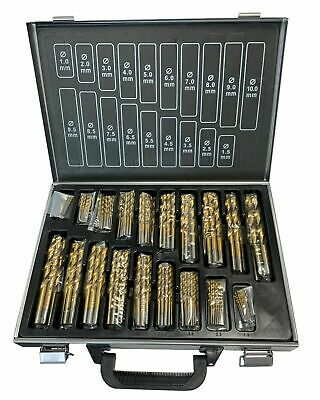 Rdgtools 51Pc Cobalt Fully Ground 1 - 6Mm Drill Set Drillng Engineering Tools