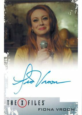 X-Files Seasons 10 & 11: Autograph / Auto Fiona Vroom as Barbara Beaumont