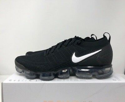 8d30734cf92949 NIKE AIR VAPORMAX Flyknit 2 Mens size 14 (942842 001) Black NEW ...
