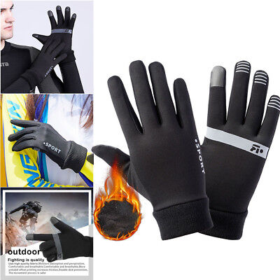 Winter Women Men Touch Screen Windproof Waterproof Outdoor Driving Gloves US F2