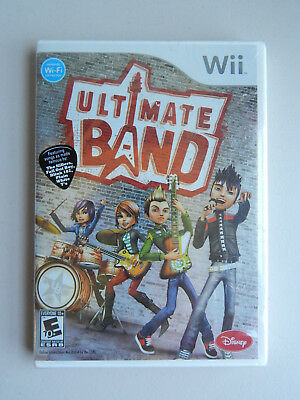 Ultimate Band Game New & Sealed! Nintendo Wii