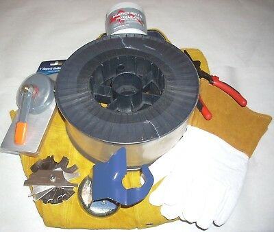 44 lb Roll Mig Welding Wire ER70S-6 .035 Mig Welding Accessory Package Deal