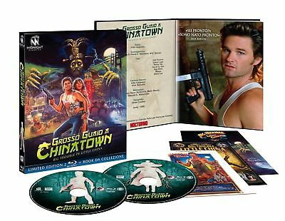 Blu Ray Grosso Guaio A Chinatown (2 Blu Ray+Booklet) - Limited Edition ..NUOVO