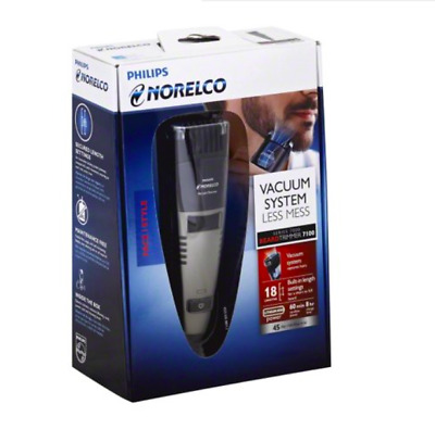 Philips QT4050 MENS RECHARGEABLE VACUUM BEARD TRIMMER CORDLESS TURBOVAC NEW