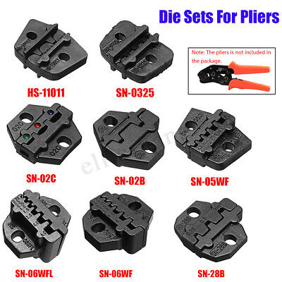 Alloy Steel Die Sets Quickly Change For SN Crimping Plier Series Hand Jaws