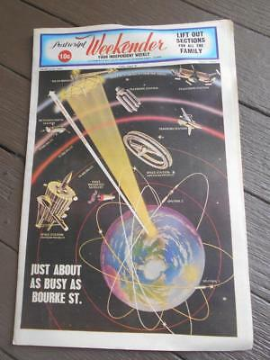 Rare 1st issue 1969 Postscript weekender your independent weekly South Yarra