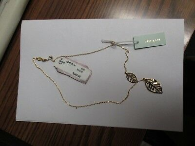 14 K GOLD NECKLACE for WOMEN Made in Italy  BRAND NEW with TAG