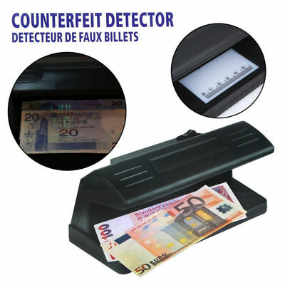 New Uv Counterfeit Fake Bank Note Banknote Money Forgery Detector Checker Tester