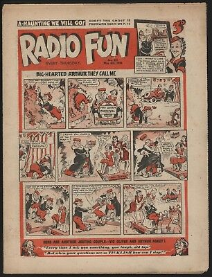 RADIO FUN #291 MAY 6th 1944  RARE WAR-TIME ISSUE FROM SIGNIFICANT COLLECTION