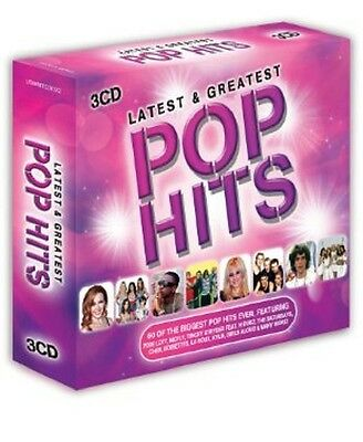Latest & Greatest Pop Hits 3-CD Box Set NEW SEALED McFly/M/Squeeze/Dodgy/T.Rex+