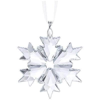 Swarovski Clear Crystal Christmas Ornament LITTLE SNOWFLAKE 2018 -5349843 New