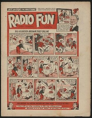 RADIO FUN #294 MAY 27th 1944  RARE WAR-TIME ISSUE FROM SIGNIFICANT COLLECTION