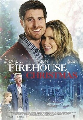 FIREHOUSE CHRISTMAS New Sealed DVD Anna Hutchison