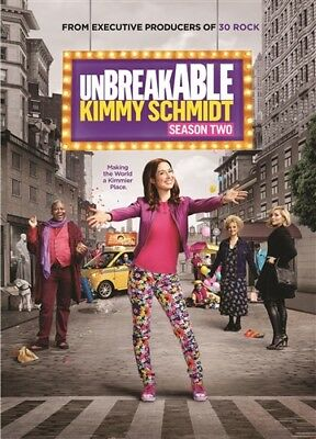 UNBREAKABLE KIMMY SCHMIDT TV SERIES COMPLETE SEASON TWO 2 New Sealed 3 DVD Set