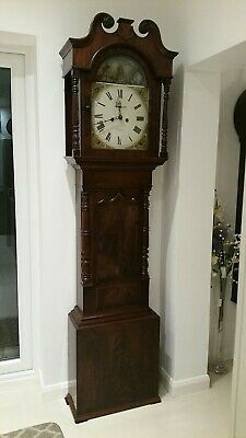 Antique Oak Weight Driven 8 Day Tavern Wall Clock by Thomas Cooke of Derby c1850