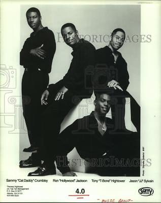 1997 Press Photo Members of the music group 4.0 - hcp02328