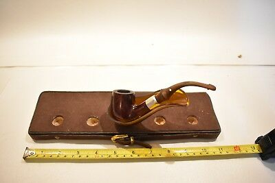 Nice Vintage Antique Wooden Tobacco Pipe - Dr. Grabow - Omega Imported Briar USA