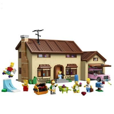 BRAND NEW - The Simpsons House 16005 - Complete Set