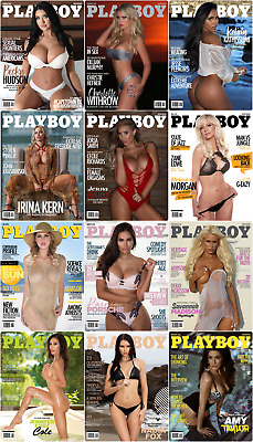 Playboy South Africa 2018 Full Year Pdf  Collection
