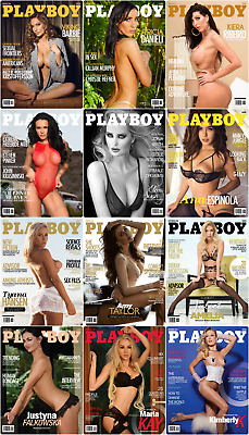 Playboy  Africa 2018 Full Year Pdf Collection