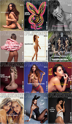 Playboy Mexico 2018 Full Year Collection Free Shipping