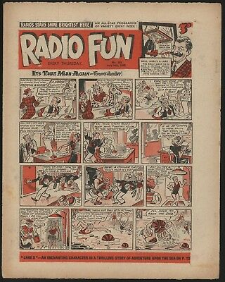 RADIO FUN #353 JUL 14th 1945  RARE WAR-TIME COMIC FROM SIGNIFICANT COLLECTION