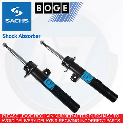 h35 For BMW 3 E90 335i 306HP -11 Sachs Front Shock Shocker Absorber