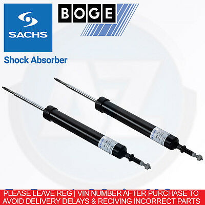 g62 For BMW 3 E90 320d xDrive 184HP -11 Sachs Rear Shock Shocker Absorber