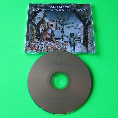 Band Aid 20 - Do They Know It's Christmas? - 3 Track Cd Single (2004)