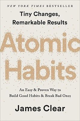 Atomic Habits An Easy Proven Way to Build Good Habits James ClearHardcover NEW