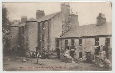 Livingstone's Birthplace Sometime after 1813, I Presume: MacMillan PPC Used 1904