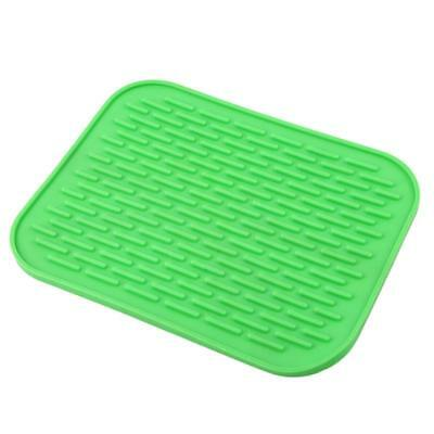 Non-Slip Heat Insulation Silicone Anti-slip Pad Pot Holder Table Trivet Mitts W