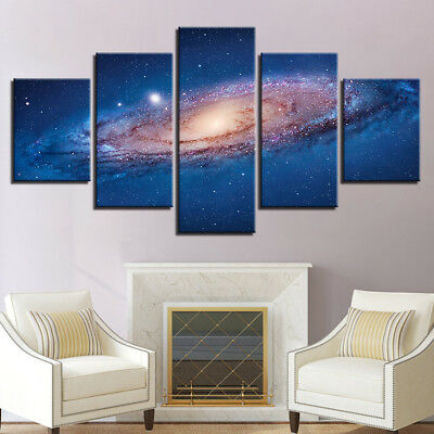 HD MODERN ABSTRACT HUGE WALL ART OIL PAINTING Black hole laser