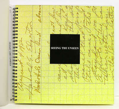1994 Seeing the Unseen: Dr Harold E Edgerton & the Wonders of Strobe Alley Book