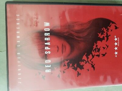 Red Sparrow (Jennifer Lawrence, Dvd)