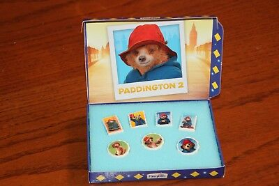 Neuf /  Coffret Collector / Pasquier  2018 /  Ours Paddington 2  Feves