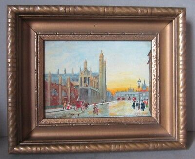 Small Impressionist Oil Painting by D. MacDonald