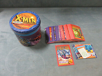 Skybox Uncanny X-Men Series II Limited Edition Trading Card Tin w/ Cards