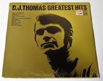 B.J. Thomas-Greatest Hits-ORIGINAL 1970 US LP-SEALED!