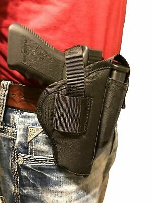 RUGER AMERICAN 9MM Nylon Hip Belt Gun holster with magazine pouch