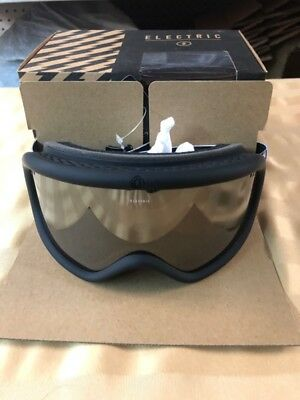 Electric Charger Goggle Duct Tape Brose/silver Chrome (Cjl032457)