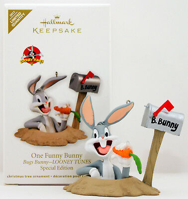 2011 ONE FUNNY BUGS BUNNY NEW Hallmark Looney Tunes Ornament LIMITED QTY SPECIAL